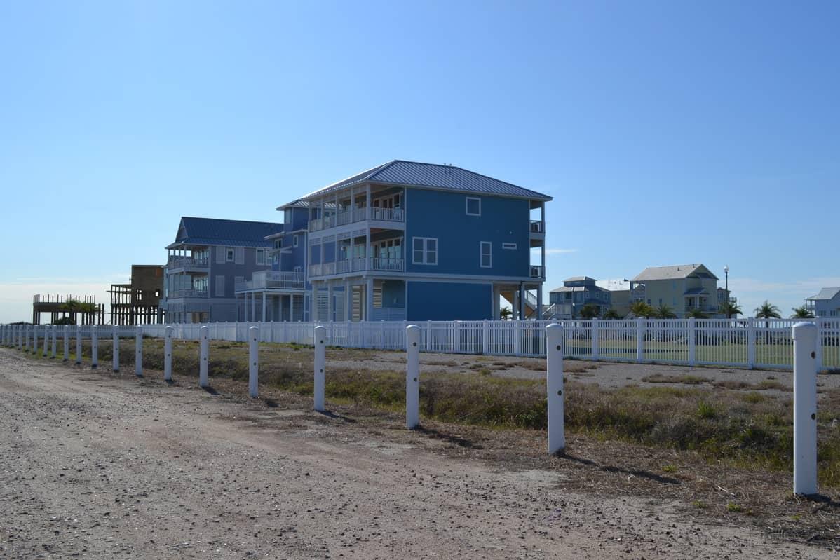 Home on Galveston Beach, Texas