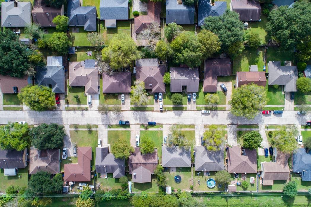 Neighborhood in Texas