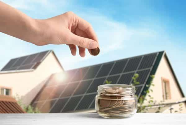 Solar panels help save money
